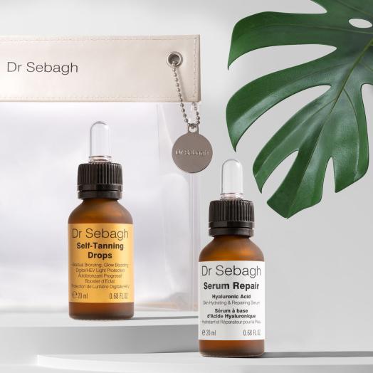 The Glow Getters: Serum Repair (20ml) and Self-Tanning Drops (20ml)