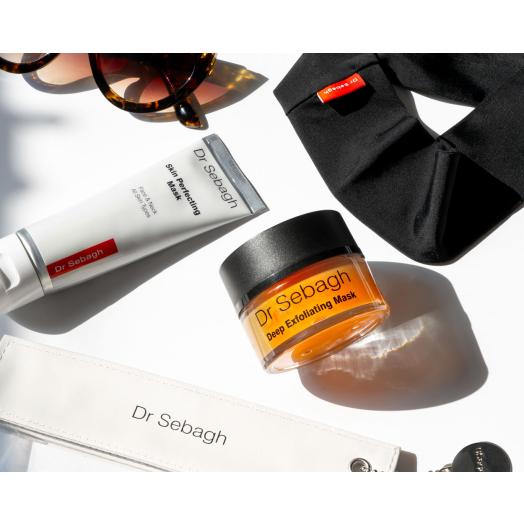Two-Step Skin Prep: Deep Exfoliating Mask (50ml) and Skin Perfecting Mask (75ml)