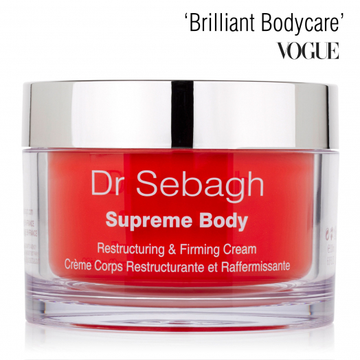 Dr Sebagh Supreme Body Cream – 'Brilliant Bodycare' Vogue