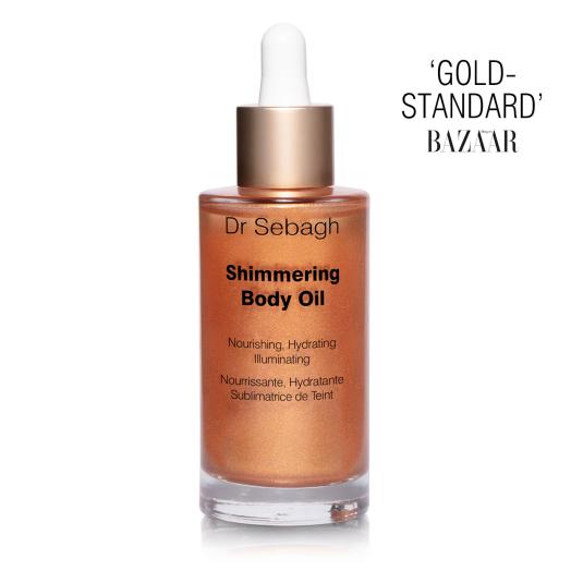 Dr Sebagh Shimmering Body Oil – 'Gold Standard' – Voted Best Body, Harper's Bazaar