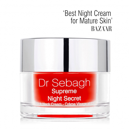 Dr Sebagh Supreme Night Secret – Voted 'Best Night Cream for Mature Skin' by Harper's Bazaar