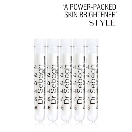 Dr Sebagh Pure Vitamin C Powder Cream –'A power-packed skin brightener'  – Sunday Time Style Magazine