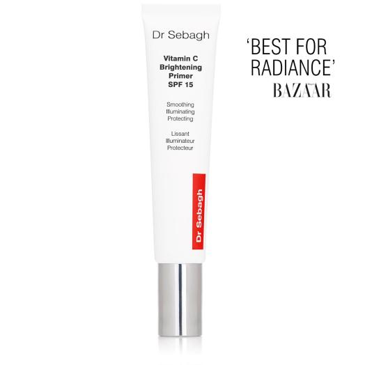 Dr Sebagh Vitamin C Brightening Primer SPF 15 – 'Best for Radiance' Harper's Bazaar.