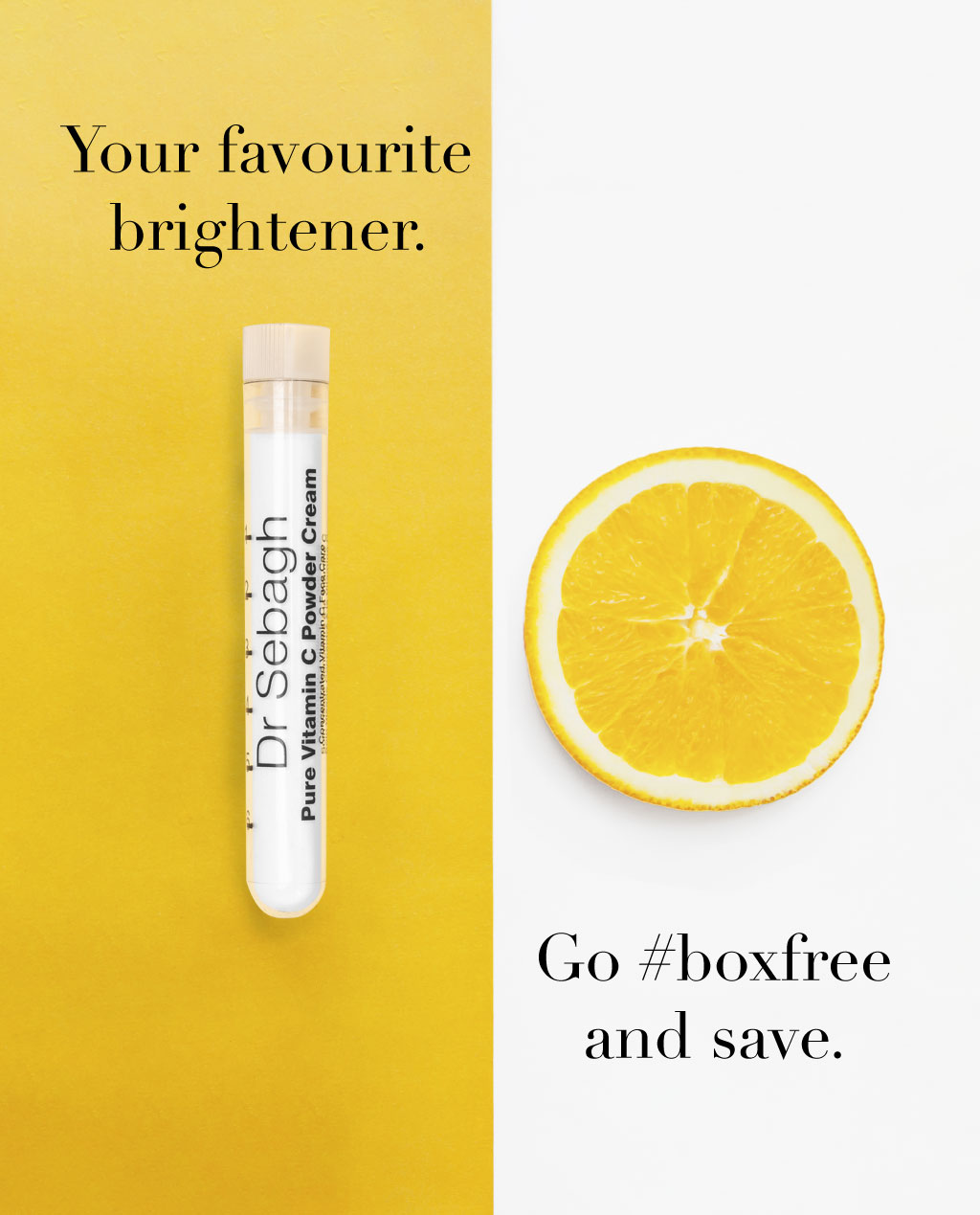 Dr Sebagh Pure Vitamin C Powder Cream