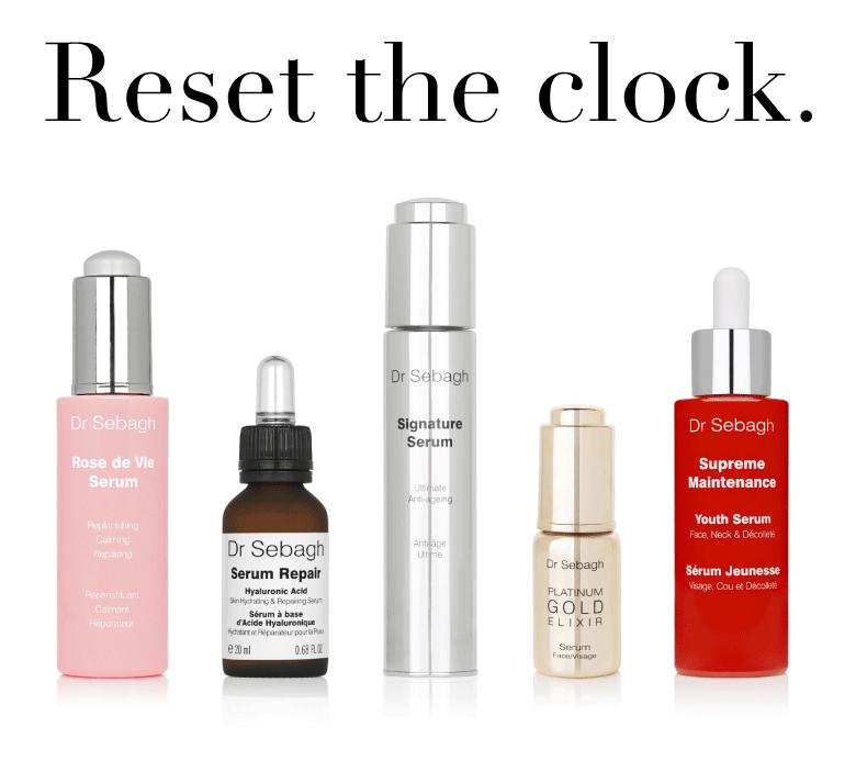 Dr Sebagh Serum Bar - Reset the clock
