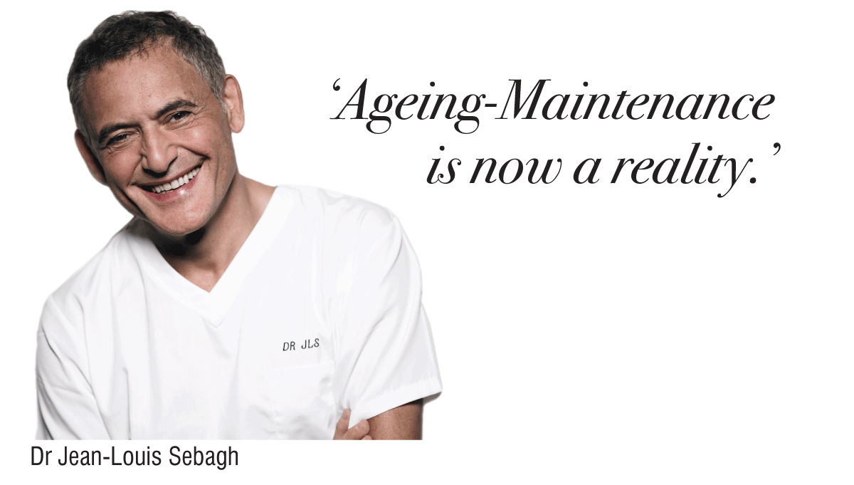 Dr Sebagh - Ageing Maintenance is now a reality