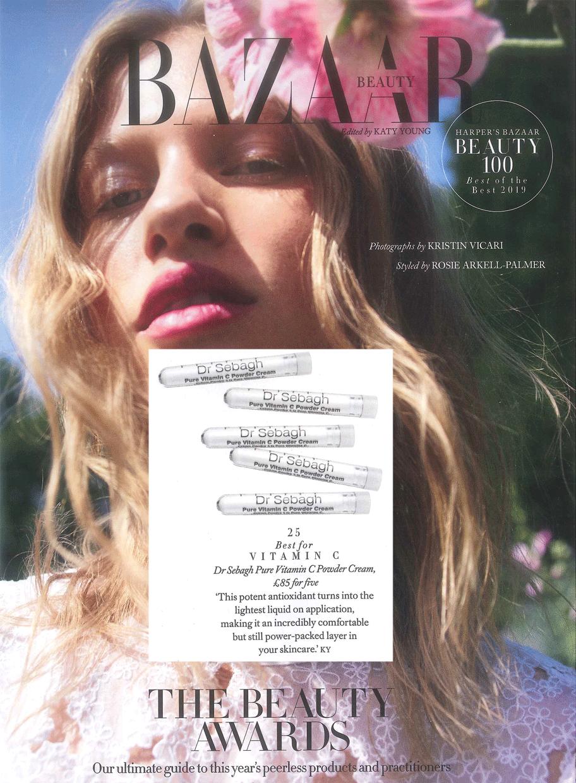 Harper's Bazaar Best of the Best Beauty Awards 2019: Best Vitamin C
