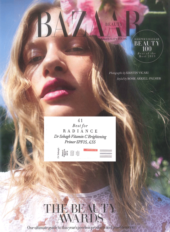 Harper's Bazaar Best of the Best Beauty Awards 2019: Best for Radiance