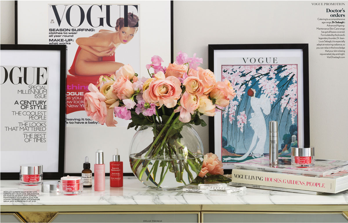 Dr Sebagh Featured in Vogue's 100th Anniversary Issue
