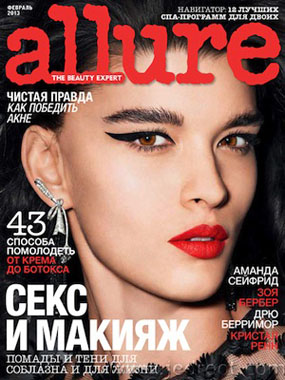 Allure Russia features Dr Sebagh's Clinic