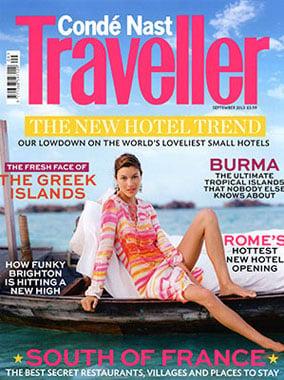 Condé Nast Traveller features Luminous Glow