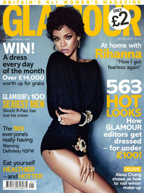 Glamour features Deep Exfoliating Mask