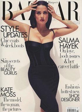 Harper's Bazaar features Platinum Gold Elixir