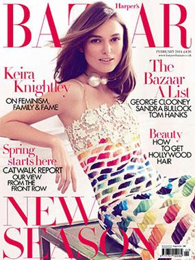 Harper's Bazaar features Rose de Vie Serum