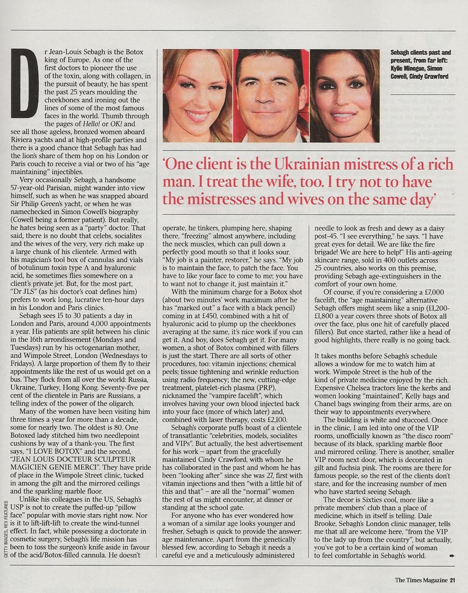 Dr Sebagh: the Botox king of Europe Part 2