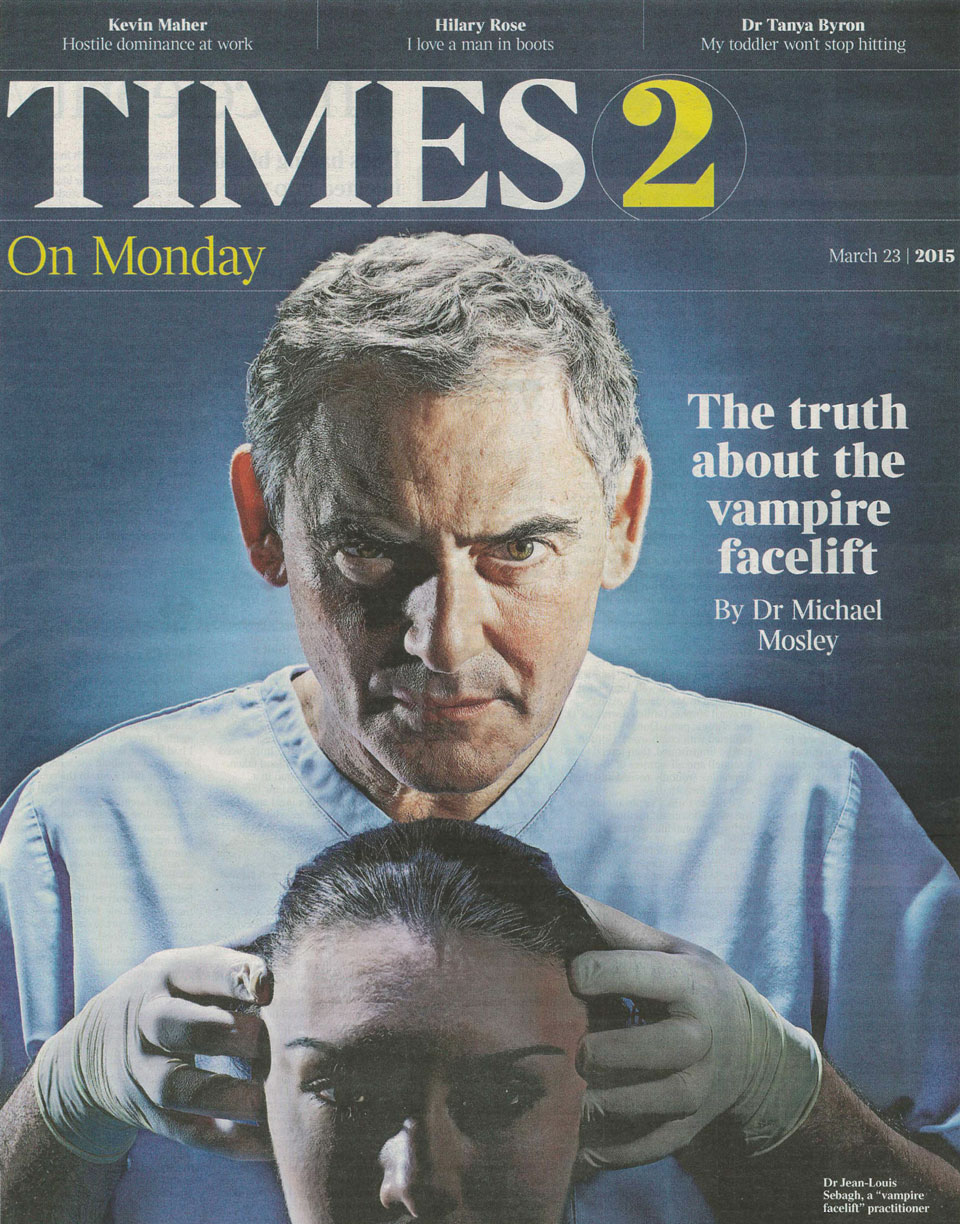The Vampire Facelift Review Cover