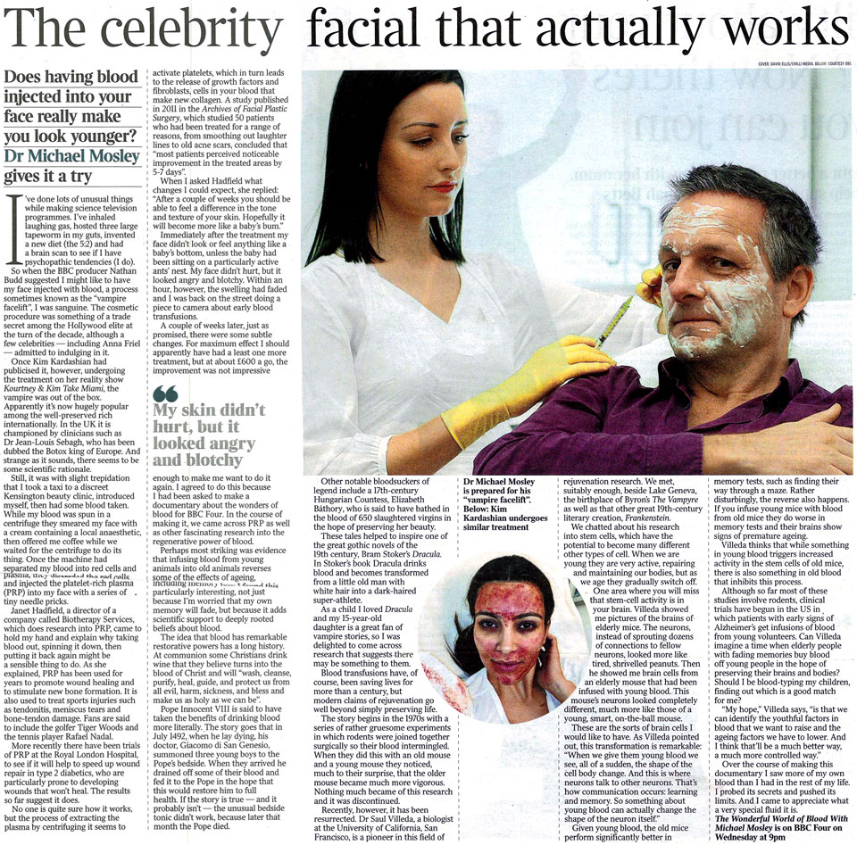 The Vampire Facelift Review Inside