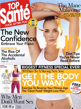 Top Santé features Skin Perfecting Mask
